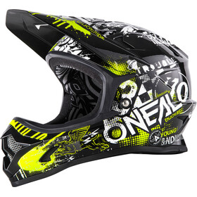 O'Neal Backflip RL2 Evo Casque Enfant, attack black/yellow
